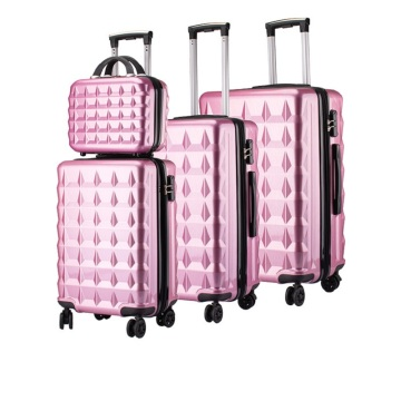 Coolife Luggage suitcase ABS 3 Piece Set