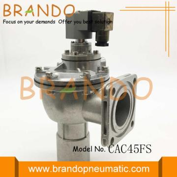 90 Degree Flanged Diaphragm Pulse Valve CAC45FS
