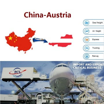 Guangzhou airfreight forwarder to Austria ( VIE airport )