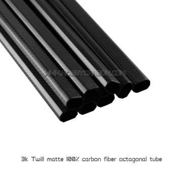 High Strength large 3K twill Carbon Fiber Boom