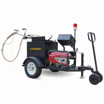 100L trailer type asphalt crack sealing machine with gasoline engine FGF-100
