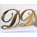 Small Brass Metal Letters for Wall Signs