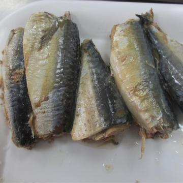 Canned Mackerel Fish In Natural Oil 415g
