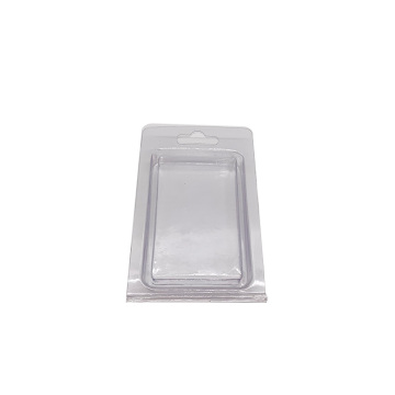 Transparent vacuum thermoforming clamshell blister