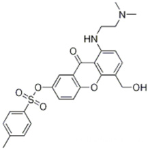 8 - ((2- (diMethylaMino) ethyl) aMino) -5- (hydroxyMethyl) -9-oxo-9H-xanthen-2-il 4-Methylbenzenesulfonate CAS 86456-22-6