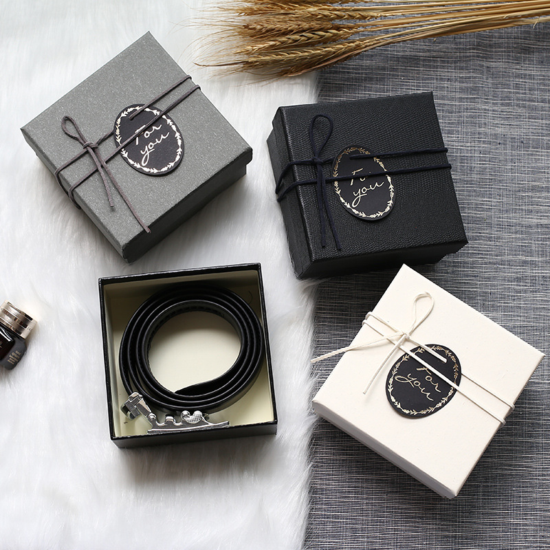 Belt wallet gift packaging box