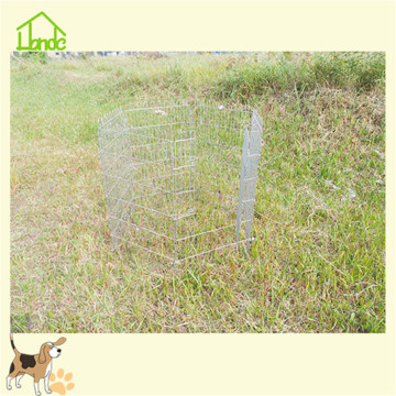 6 Panels metal folding dog playpen