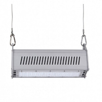 200W Hangarau Aluminium Raina Irirangi High Bay Light