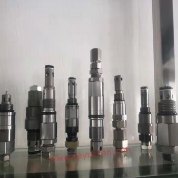 Custom Relief Valve Machining According to the Drawings