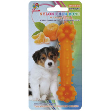 "Percell 4.5"" Nylon Dog Chew Bone Orange Scent"