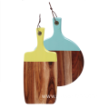 Wooden cutting board with painting handle