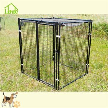 Customized LOGO welded mesh dog cage