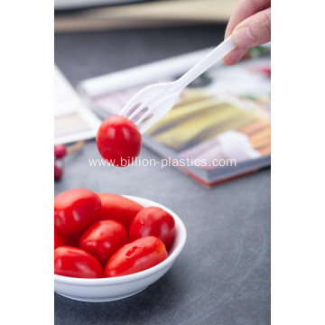 Medium-Weight Polypropylene Plastic Fork