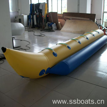 inflatable water banana boat factory supply