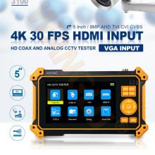 Surveillance WANGLU 5''CCTV Tester Professional Tools 8MP CVI/TVI/AHD CAMERA Discovery HD-3100 Series Optional Cable Tracer
