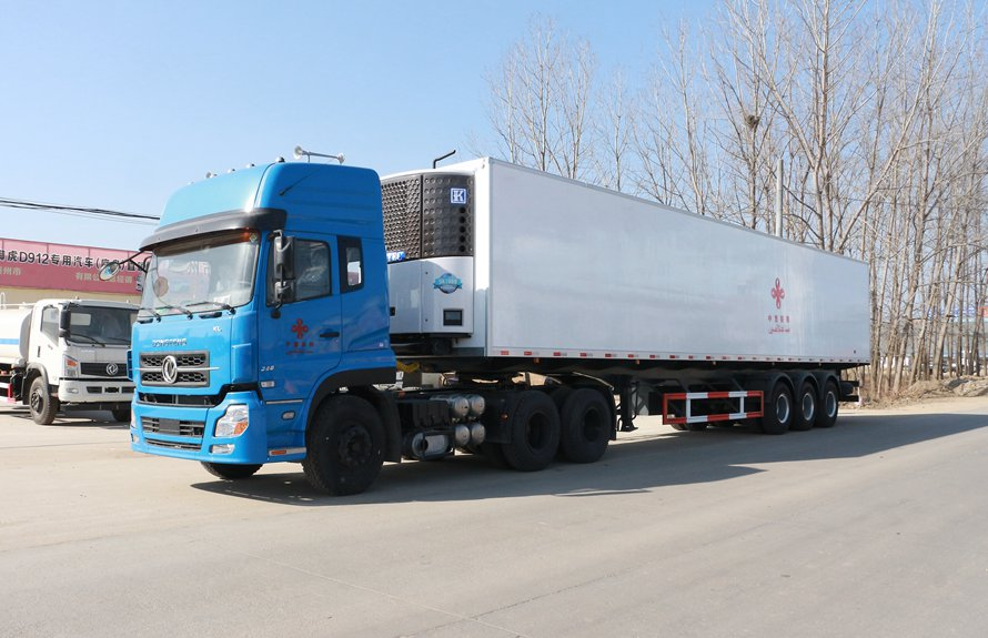 dongfeng refrigerated truck