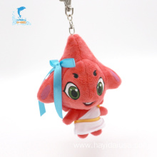 Hot popular red cute hanging starfish plush toy