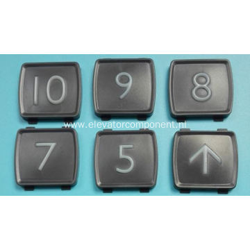 Tactile Symbol for Mitsubishi Elevator Push Buttons