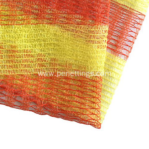 Plastic PE material orange safety alert snow fence