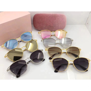 Round Full Frame Sunglasses For Women
