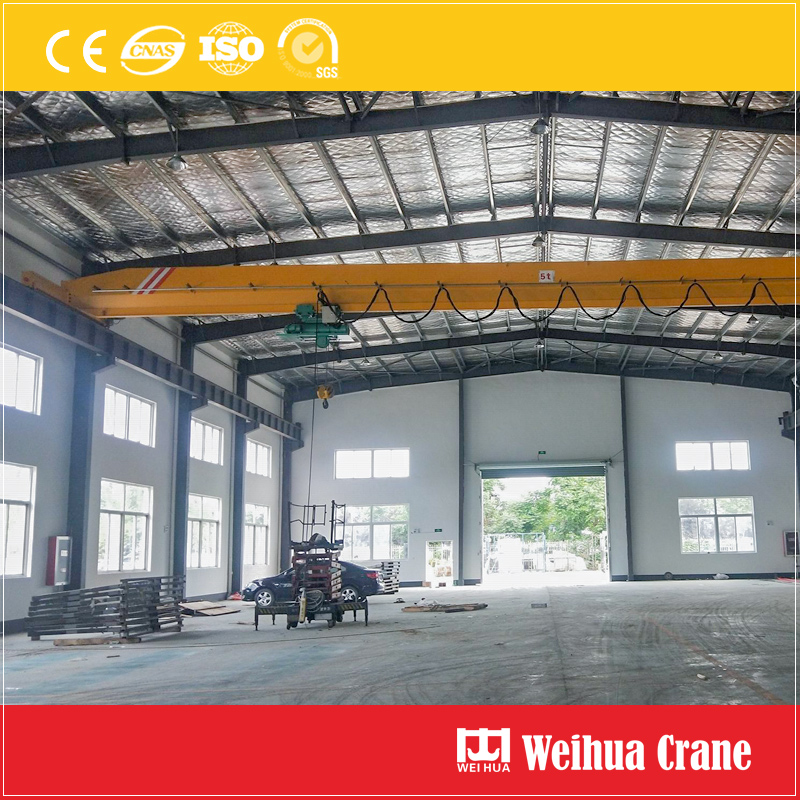 Metallurgy Use Single Girder Overhead Crane