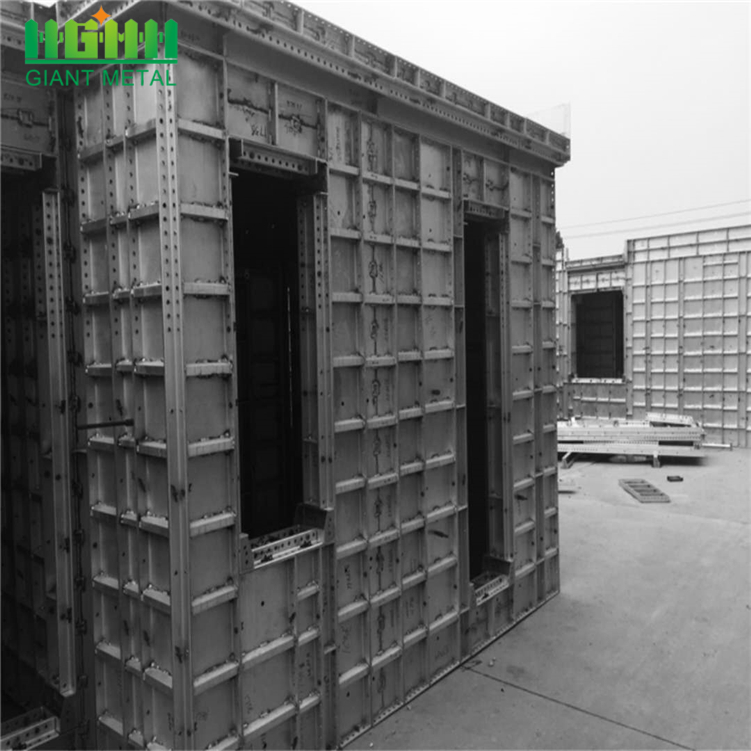 Leader SGF modular recycling aluminum concrete construction