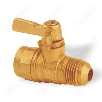 "Brass Mini Ball Valve 3/8""X3/8"""