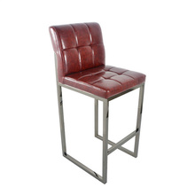 American-style bar leisure stainless steel talk chair
