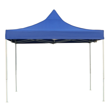 Yellow 600D polyester fabric pop-up folding advertising tent