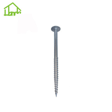 Hot galvanized earth screw anchor