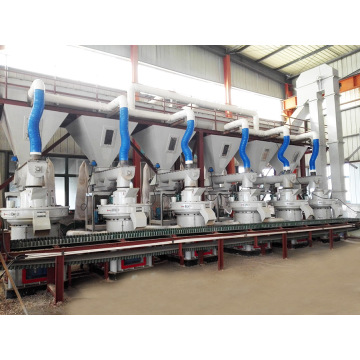 Biomass wood pellet production line for sale