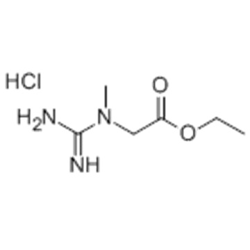 Glycine,N-(aminoiminomethyl)-N-methyl-, ethyl ester, hydrochloride (1:1) CAS 15366-32-2