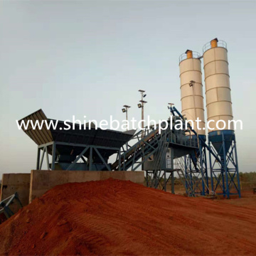 Mobile Batch Concrete Mixer