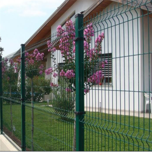 galvanized bending wire fencing 3d fence panel