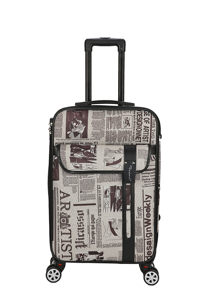 4 Wheel Expandable Carry On