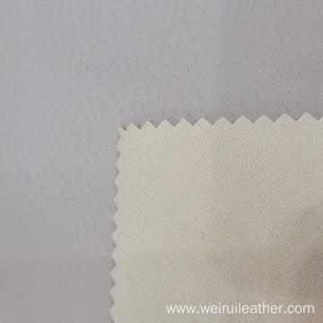 PIA Plain PU Leather With Nonwoven Backing