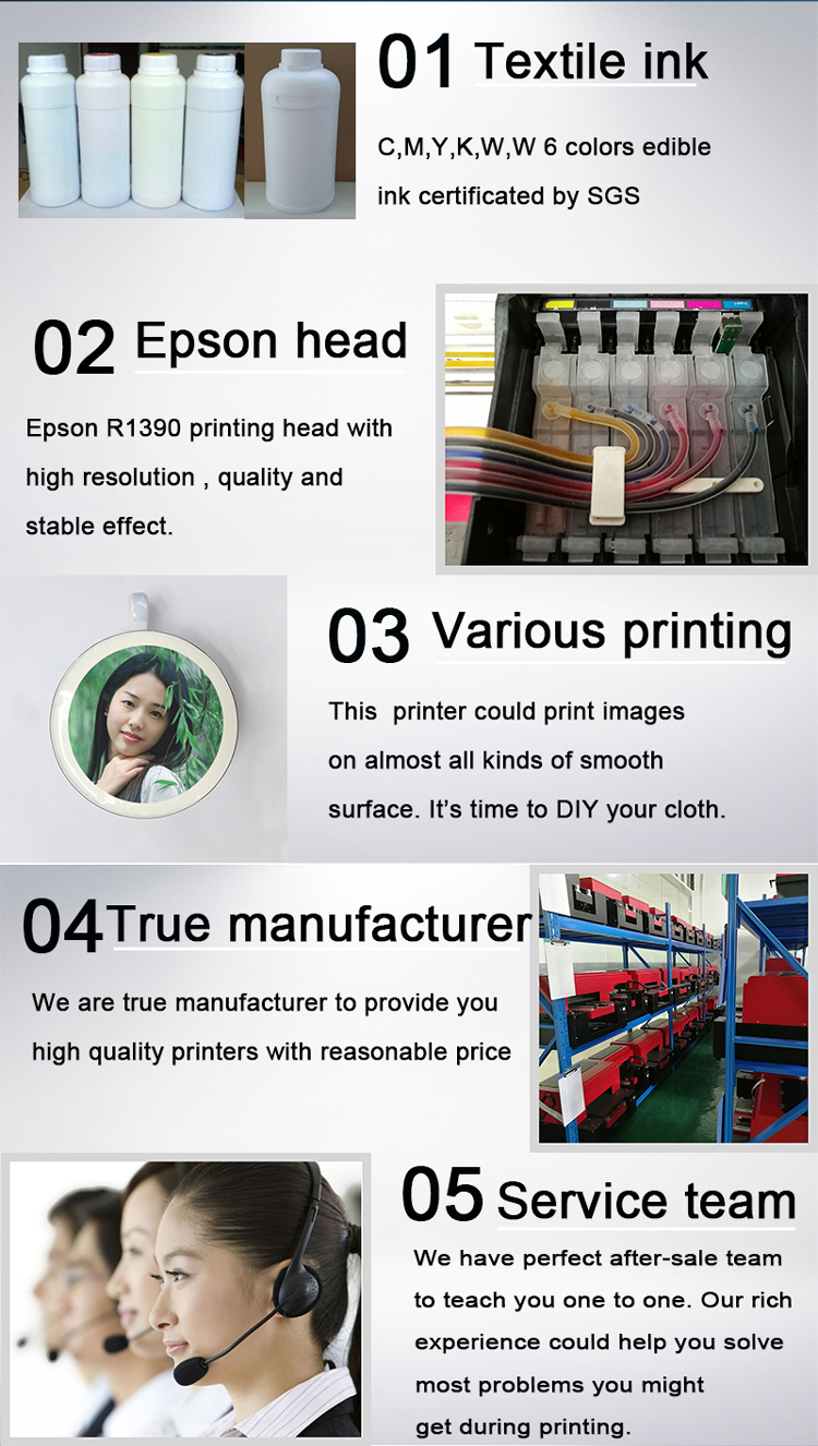Scarf Printing Machine