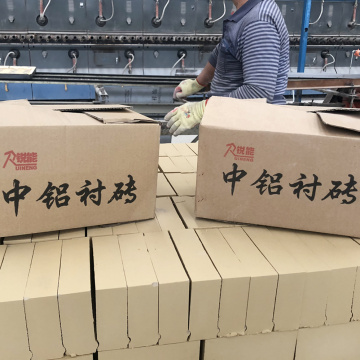 Wear Resistant Ceramic Brick Middle Alumina Brick