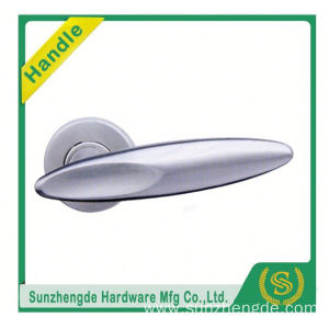 SZD STLH-007 Top Quality Ss Polished On Rose Stainless Steel Lever Door Knob Handle