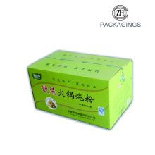 Colorful 5-ply corrugated paper carton box