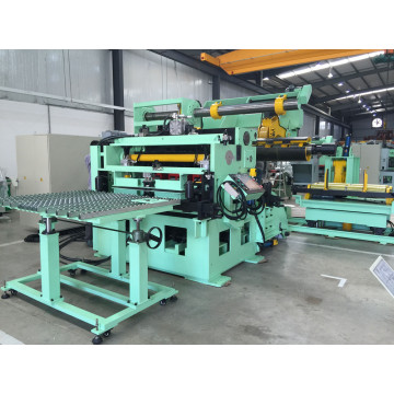 High performance decoiler straightener feeder for press