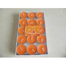 Orange Soy Luxury Tealight Candles