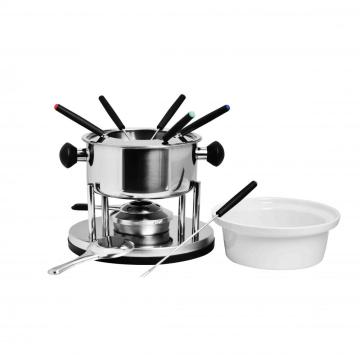 cheese chocolate fondue set
