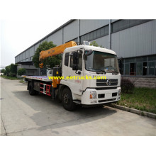 Dongfeng 8T Wrecker Recovery Vehicles with Crane