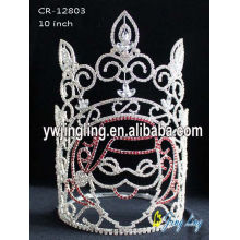 10 Inch Santa Holiday Pageant Crowns