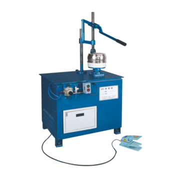Manual industrial buffing polishing machine