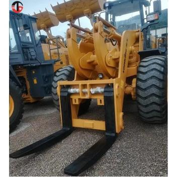 18 ton heavy forged forks with shaft