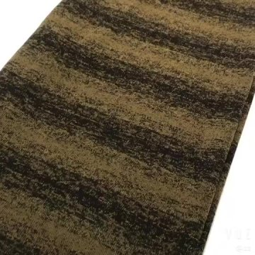 Yarn-Dyed Hacci Brushed Knit Fabric