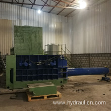 Automatic Hydraulic Scrap Steel Aluminum Turnings Compactor