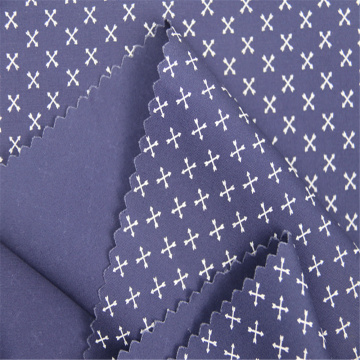 Cotton Poplin Printed Cloth Suitable for Men